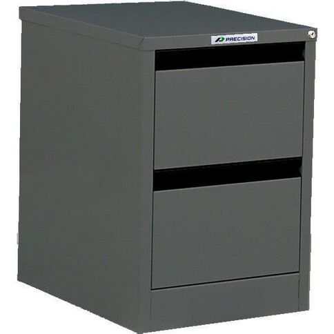 Precision Classic Filing Cabinet 2 Drawer High Voltage