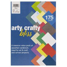 Direct Paper Arty Crafty Bliss Pack 175 Sheets