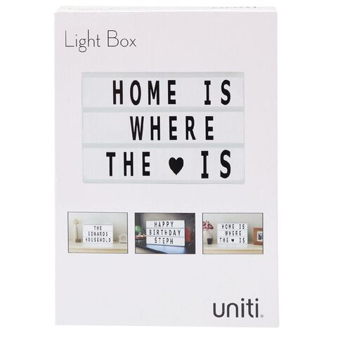 Uniti Light Box