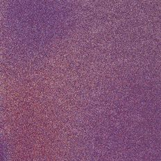 American Crafts Cardstock Glitter Medium 12 x 12 Neon Purple