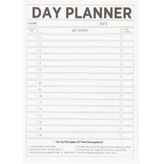 WS Day Planner Pad 50 Sheets A5