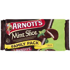 Arnott's Mint Slice Biscuits Value Pack 337g