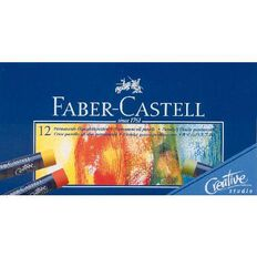 Faber-Castell Oil Pastels 12 Pack