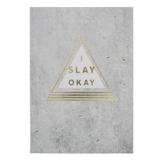 Banter I Slay Softcover Notebook A5