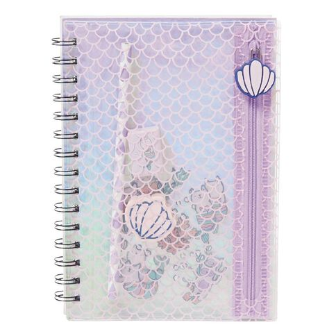 Kookie Cat-Y-Maid Notebook With Filled Pencil Case A5