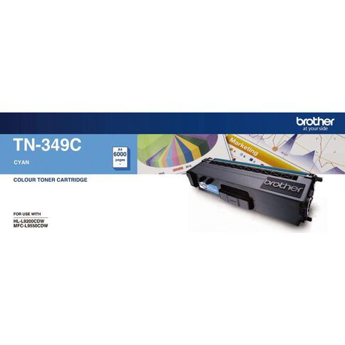 Brother Toner TN349 Cyan (6000 Pages)