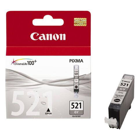 Canon Ink CLI521 Photo Grey (500 Pages)