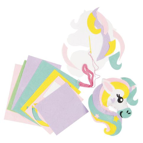 U-Do Sew Your Own Unicorns 2 Pack