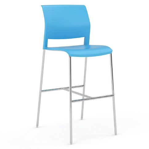 Game Barstool Aqua