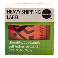 Impact Heavy Shipping Label Roll Of 500