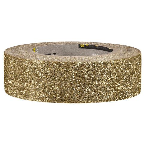 Scotch Craft Glitter Tape 15mm x 5m Gold