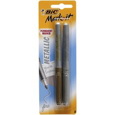 Bic Mark-It Metallic Marker 2 Pack