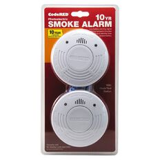 CodeRED 10 Year Photoelectric Smoke Alarm 2 Pack