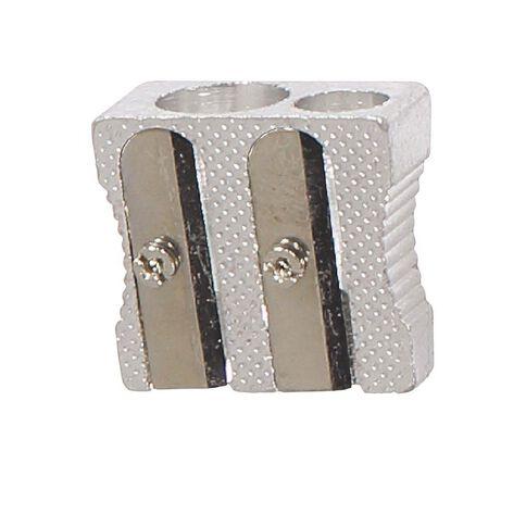 WS Pencil Sharpener 2 Hole Metal