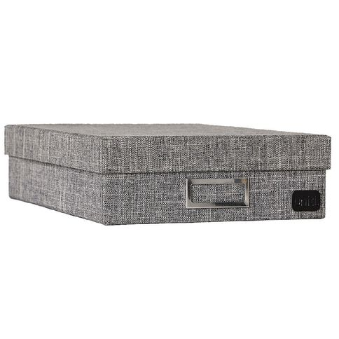 Uniti Storage Box RPET Grey A4