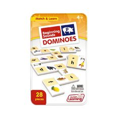 Junior Learning Beginning Sound Dominoes
