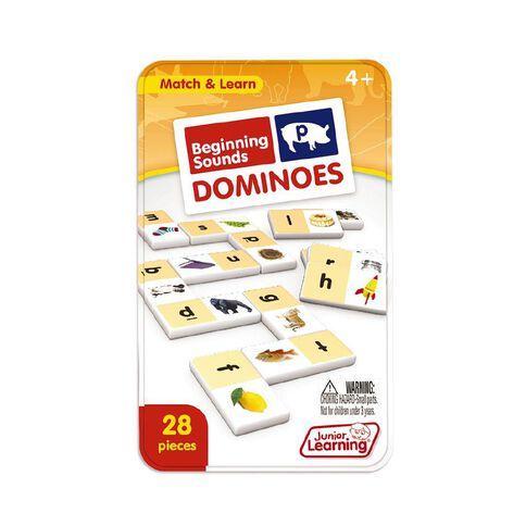 Junior Learning Beginning Sound Dominoes