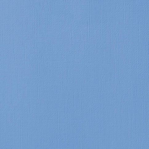 American Crafts Cardstock Textured 12 x 12 Ocean Blue