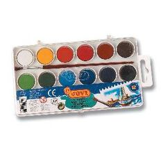 Jovi Watercolours 12 Pack Multi-Coloured