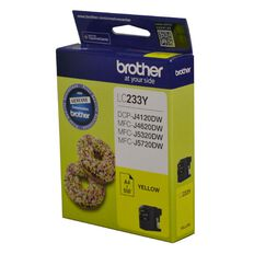 Brother Ink LC233 Yellow (550 Pages)
