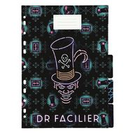 Disney Villains Printed Dividers 5 Pack A4