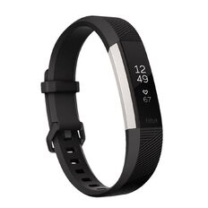 Fitbit Alta HR Black Large Black