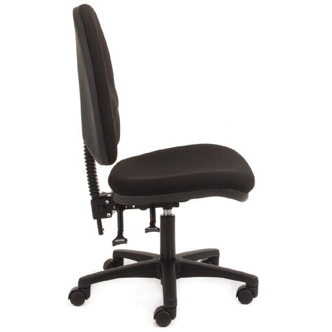 Chair Solutions Aspen Highback Chair Black Black