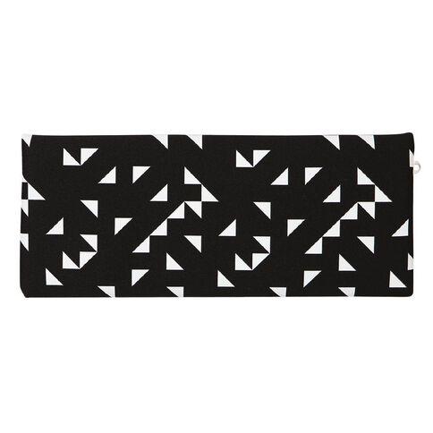 WS Pencil Case Neoprene Black/White 30cm