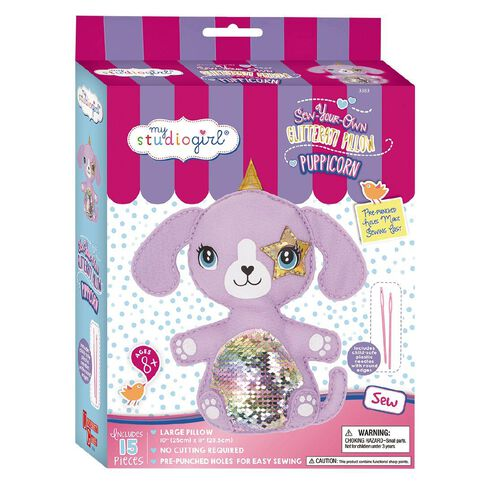 My Studio Girl Sew your Own Mythical Creature Puppicorn