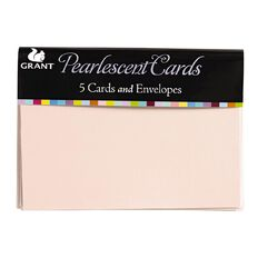 Grace Taylor Pearl Cards with Envelopes Assorted