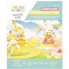 Little Hands Sticker Activity Pad Reusable Assorted
