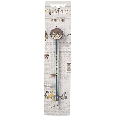 Harry Potter Novelty Pen Harry Potter Head Topper