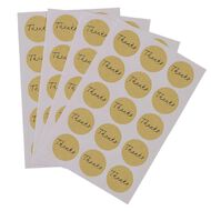 Uniti Formal Stickers Thank You Gold