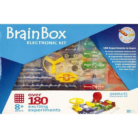 Brain Box 180 Experiments
