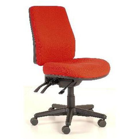 Buro Seating Roma 3 Lever Highback Chair Red Red