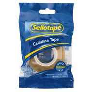 Sellotape Cellulose Tape 18mm x 33m Clear