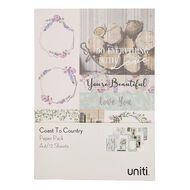 Uniti Coast to Country Paper Pad A4 12  Sheets