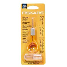 Fiskars Fingertip Control Craft Knife #11 Blade Orange