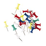 WS Push Pins 50 Pack Assorted