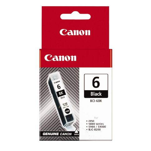Canon Ink BCI6 Black (760 Pages)
