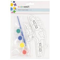 Kookie Paint Your Own Eva Plane