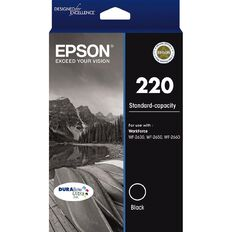 Epson Ink 220 Black (175 Pages)