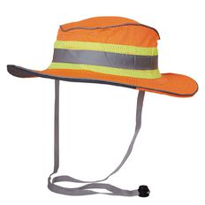 Esko Hi-Vis Full Brim Safari Hat Orange L-XL
