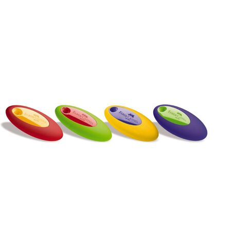 Faber-Castell Oval Eraser Assorted