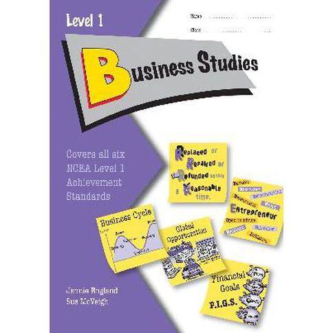 Ncea Year 11 Business Studies Learning Workbook
