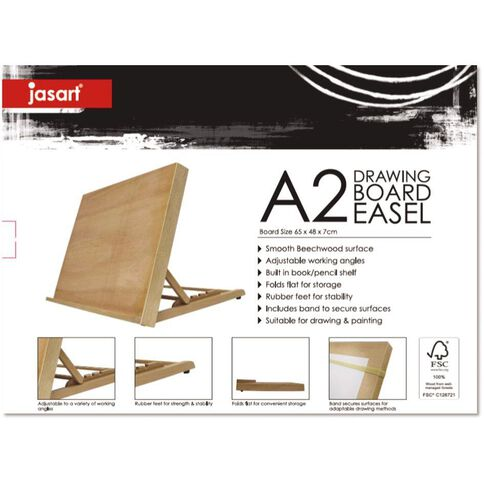 Jasart Drawing Board Easel A2