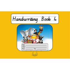 Handwriting Book 4 Orange