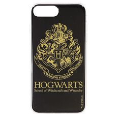 Harry Potter iPhone 6+/7+/8+ Hogwarts Case Black