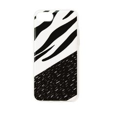 iPhone 7/8/SE Phone Case Black/White