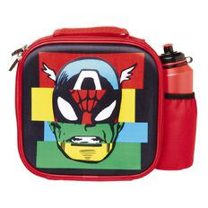 Marvel 3D Lunch Bag And Bottle Set